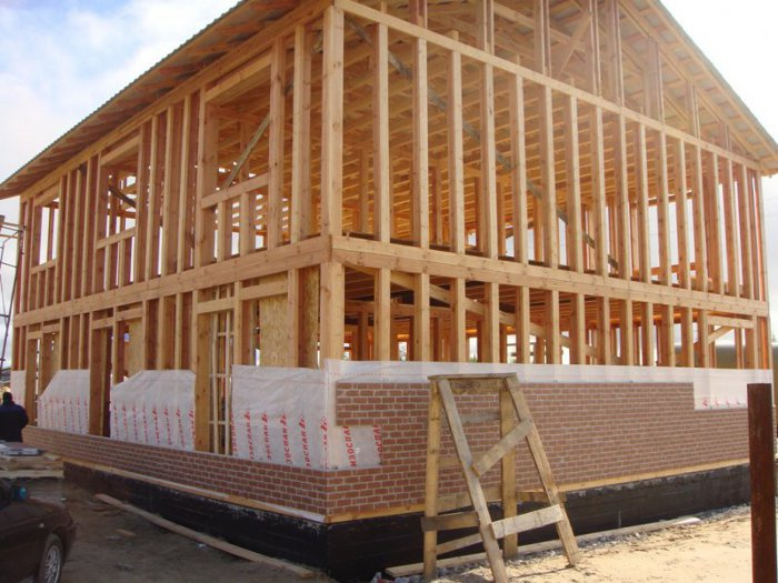 строительство каркасного дома по скандинавской технологии