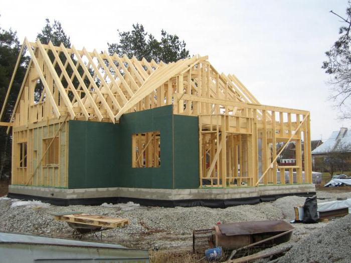 как построить каркасный дом на сваях