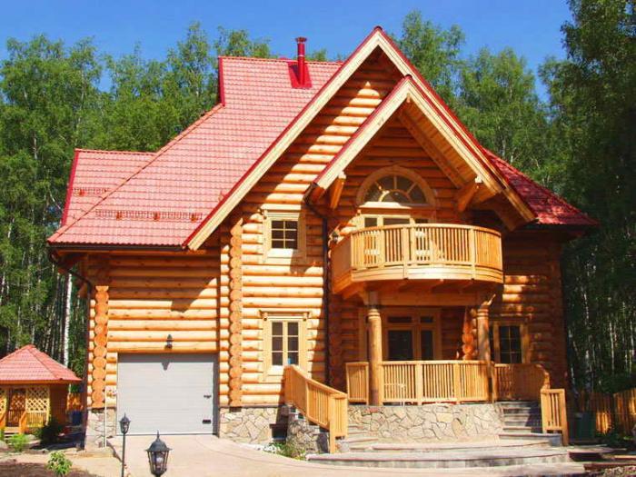 дом бревенчатый