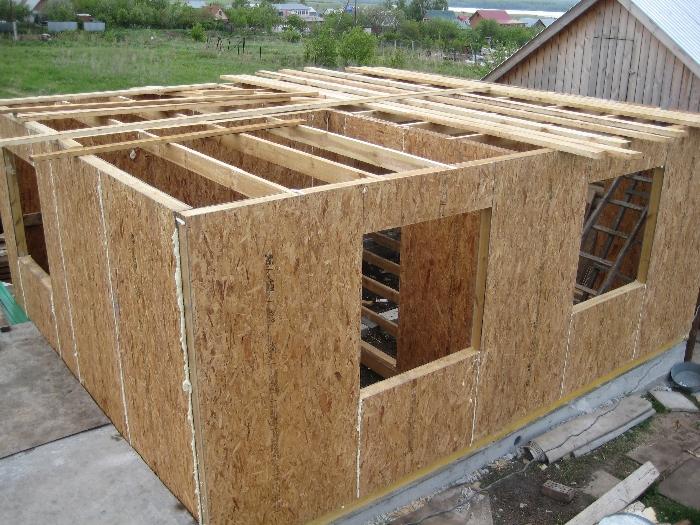 103 Каркасный дом пошаговая инструкция стены