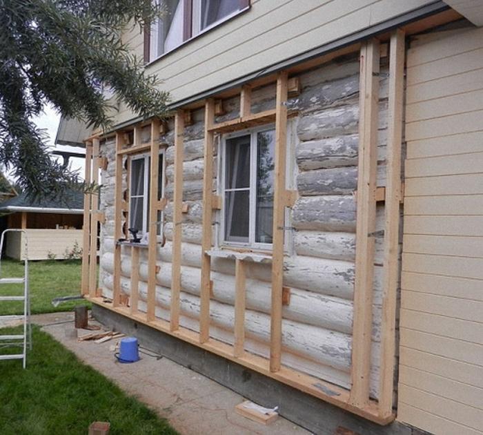 как обшить деревянный дом сайдингом