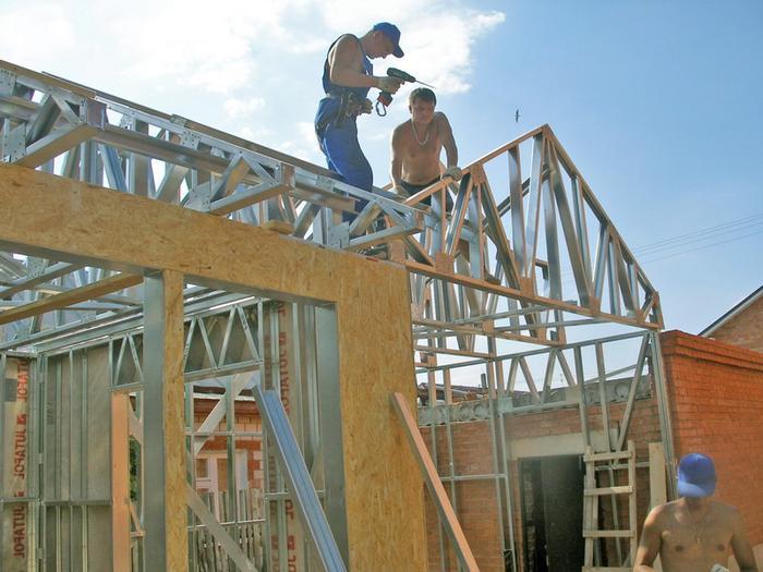 каркасное строительство по технологии лстк