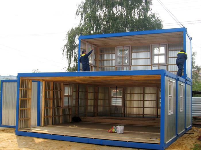 Каркасный дом с верандой своими руками