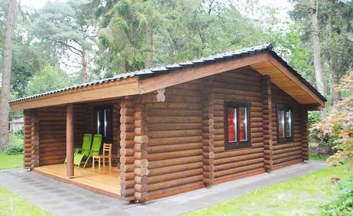 проект дома одноэтажного из бревна