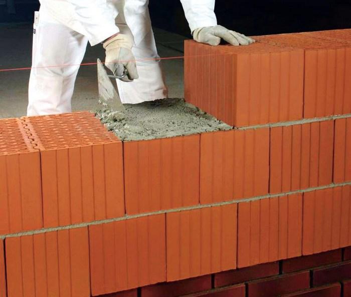 керамические блоки монтаж