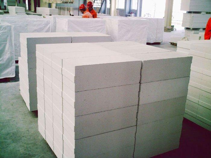 блоки из ячеистого бетона стеновые