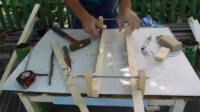 шаблон для кладки кирпича своими руками