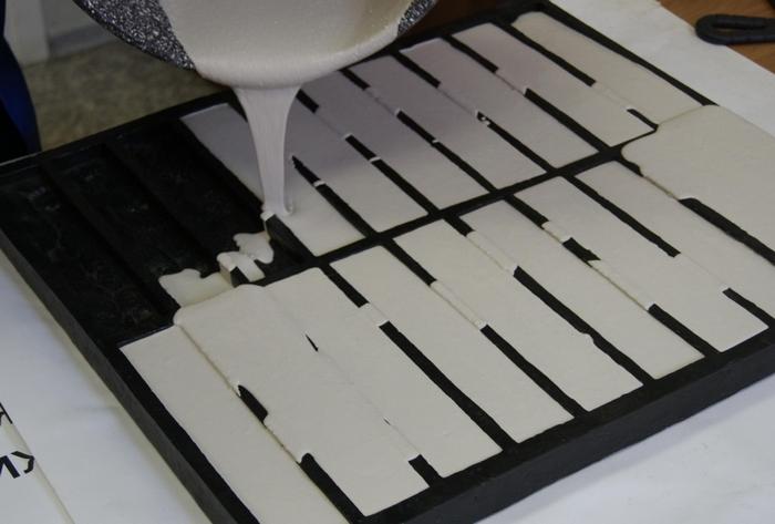 декоративная гипсовая плитка под кирпич