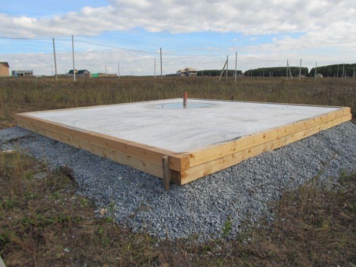 фундамент для дома на болотистой местности