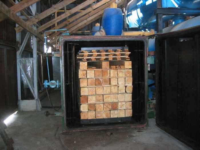 сухой профилированный брус камерной сушки производитель