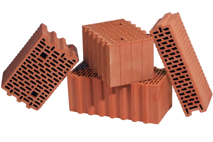 крупноформатные керамические поризованные блоки