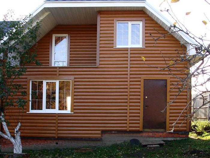 блок хаус имитация бруса фото