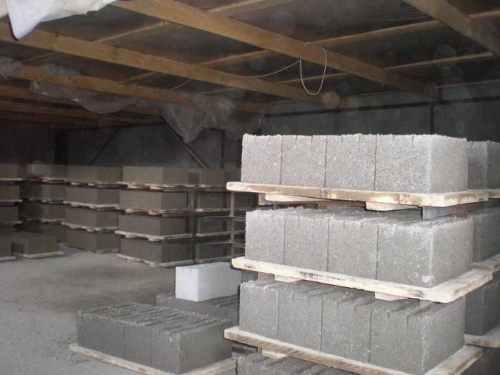 производство шлакоблоков в домашних условиях
