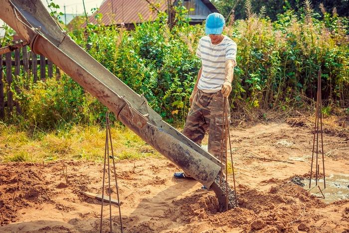песчаный бетон для буронабивных свай