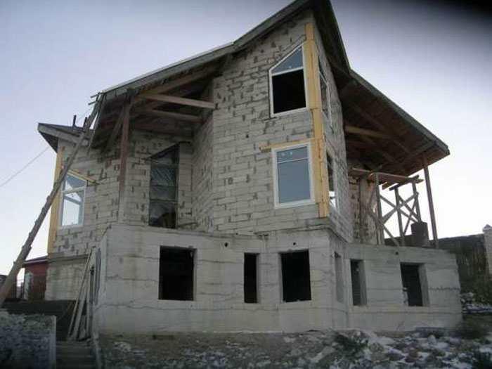 виды блоков для строительства домов