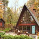 Дома шалашного типа и строительство своими руками