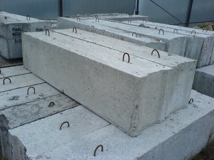 строительство фундамента из блоков