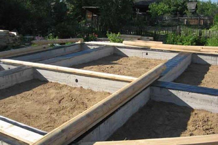 лучший фундамент для деревянного дома