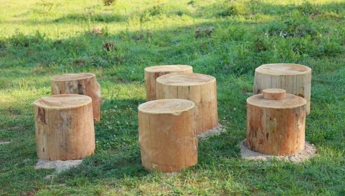 фундамент столбчатый деревянный