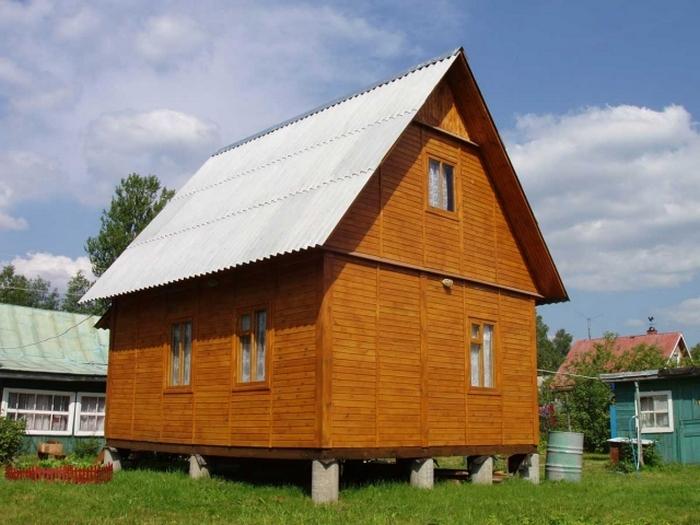 фундамент под дом деревянный