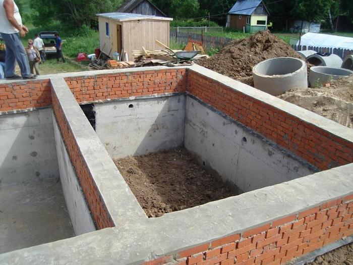 фундаменты для домов с подвалом