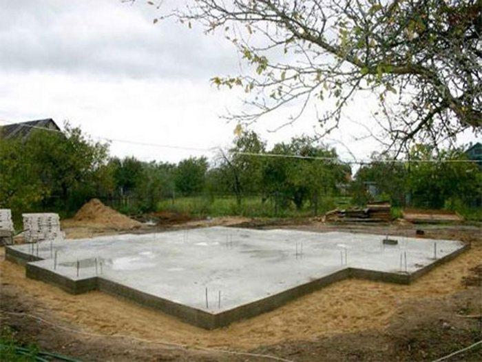 плитный фундамент на пучинистых грунтах