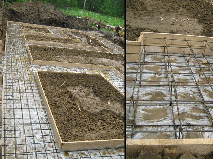 толщина бетонной подготовки под фундамент