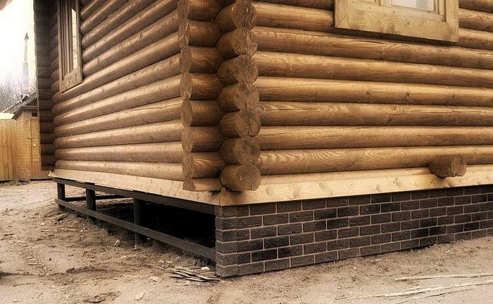 фундамент своими руками под деревянный дом