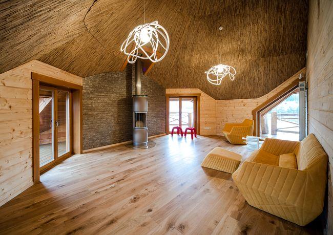 фото деревянного дома изнутри и снаружи