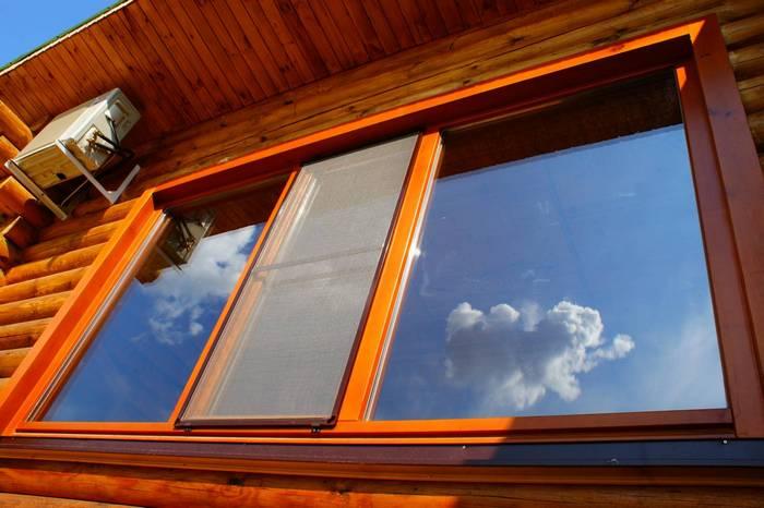деревянные дома с панорамными окнами