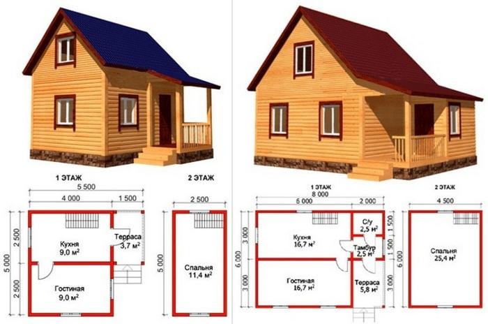 фото маленьких домов