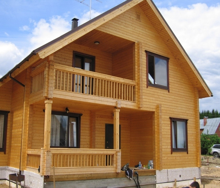 дом бревенчатый или из бруса