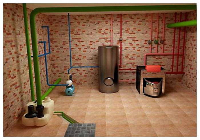 как построить дом с подвалом