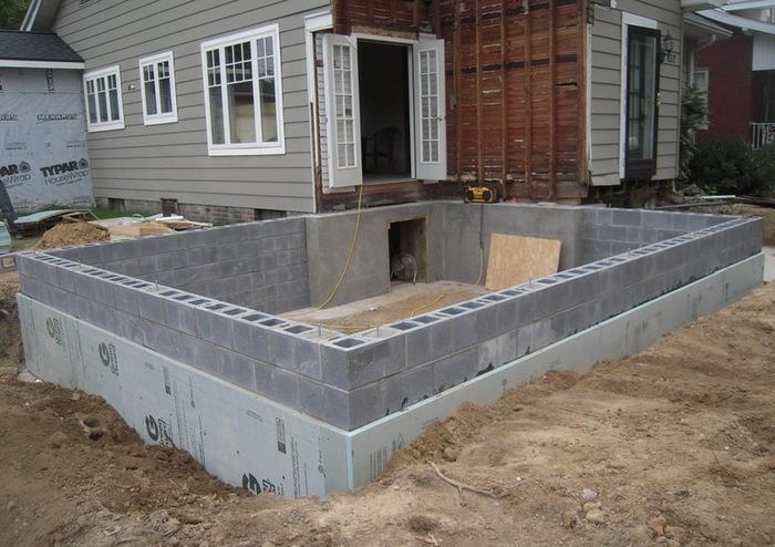 фундамент из газосиликатных блоков