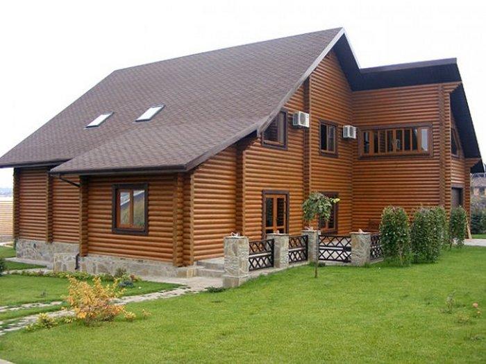 элитные деревянные дома