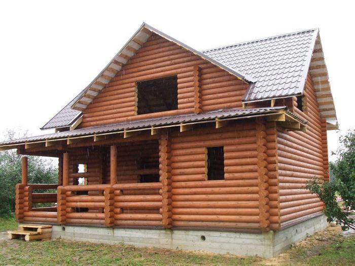 деревянные дома по современной технологии