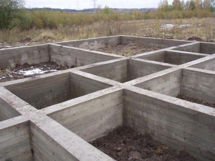 ленточный фундамент на песчаном грунте