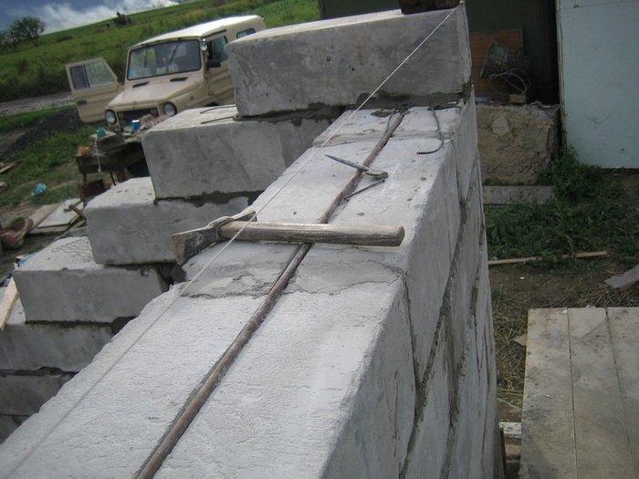 строительство дачного дома из пеноблоков