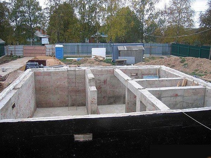 фундаменты для домов из пеноблоков