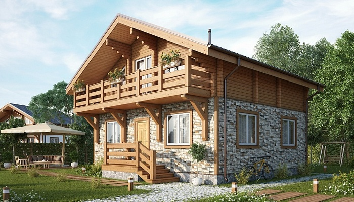 кирпичный дом или деревянный