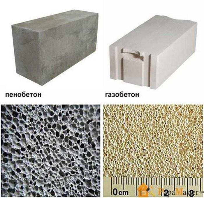 из чего строить дом газобетон или пенобетон