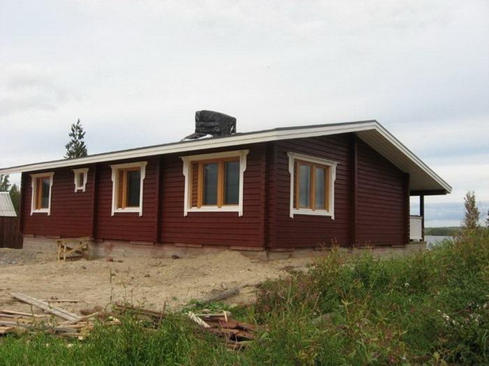 финские дома деревянные