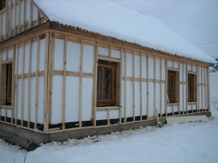 проекты домов из пеноблоков эконом