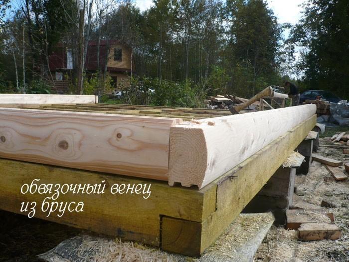 деревянный дом своими руками фото