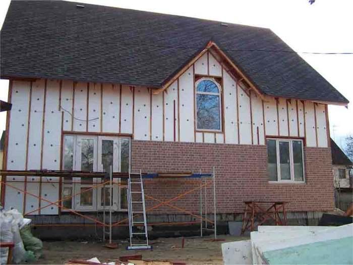 дом с пеноблоков фото