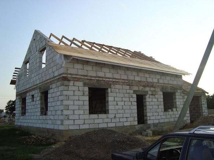 строительство из газосиликатных блоков