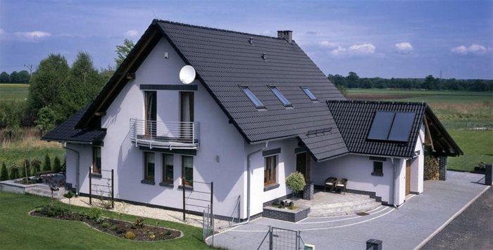 фото строительства дома
