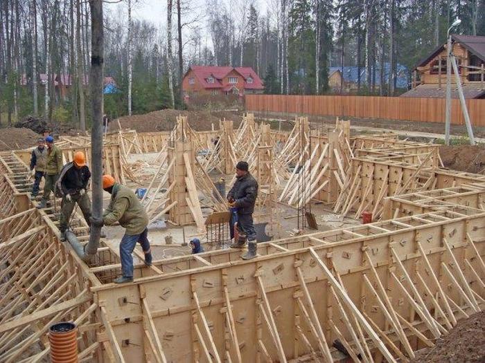 построить дом из несъемной опалубки