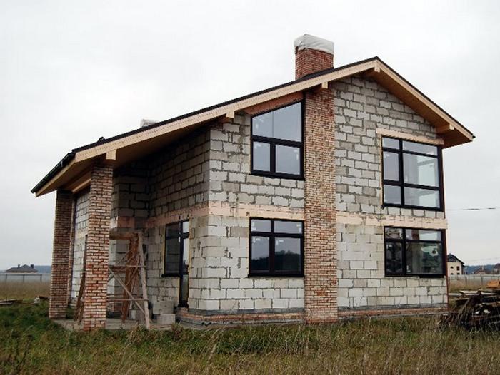 строительства дома из кирпича технология