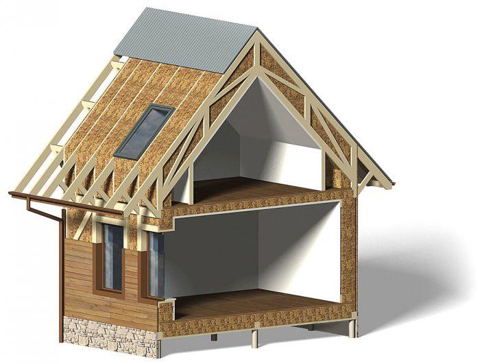 построить дом из соломы
